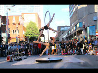 Performance acrobatique unique !