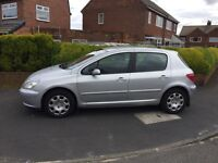 Peugeot 307, 1.4 envy, 1 owner from new, excellent condition inside and out,£699.