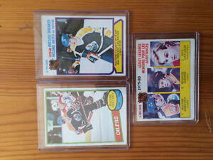 3 Wayne Gretzky 2nd year cards Peterborough Peterborough Area image 1