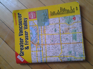 GREATER VANCOUVER & FRASER VALLEY ROAD BOOK