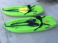 6' Lime green Kayak