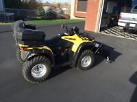 2002 Honda Foreman with plow