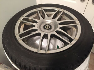 Honda Accord winter wheels and tires Kumho 225 50r17