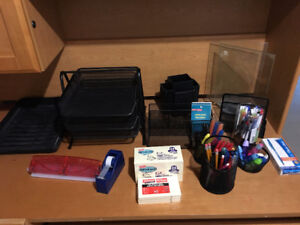 Lot of Office supplies and stationary for sale