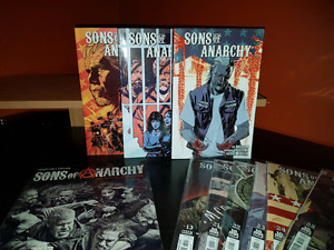 Sons of anarchy comics