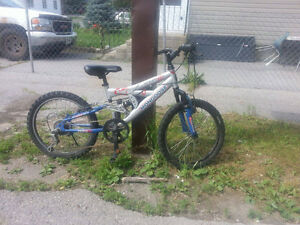 selling for a friend sons bike