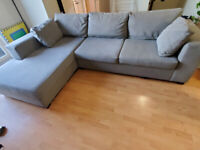 Comfortable gently used sectional for sale