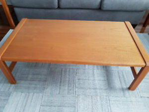 Teak Coffee and End Tables (3)