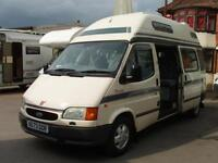 1996 Autosleeper Duetto 2 Berth Hi Top Motorhome 2.5 Diesel