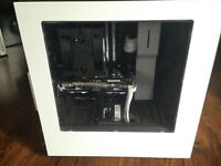 Selling White and Black Themed 1080p Gaming Pc with peripherals