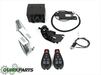 12-14 CHRYSLER TOWN & COUNTRY WITH POWER DOORS REMOTE START KIT OEM NEW