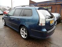 Saab 9-3 1.8I VECTOR (LEATHER SEAT + TIMING BELT CHANGED) (blue) 2005