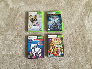 Xbox 360 with Kinect and 14 games Peterborough Peterborough Area image 2