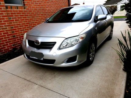 09 Toyota Corolla Ascent Top Condition Hadfield Moreland Area Preview