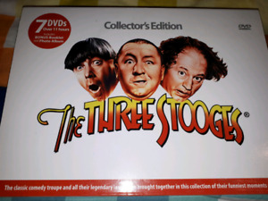 New Three Stooges Collectors Edition DVD Collection
