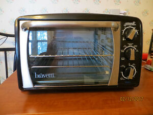 Bravetti counter top convection oven with rotisserie