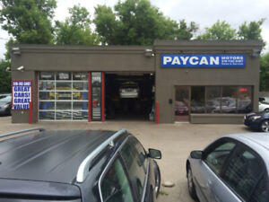 PAYCAN MOTORS TIRE INSTALLATION AND SALE