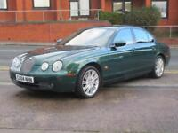 04 JAGUAR S-TYPE 2.7D V6 SPORT + AUTO + 92K WITH FSH + BRG