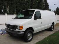 2006 Ford E-350 Full Size Cargo Van
