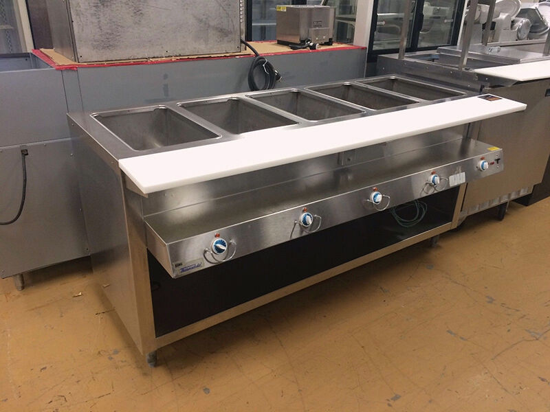 How To Use A Steam Table Ebay