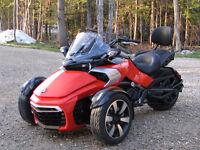 Can Am Spyder F3-S 2015 Rouge/Noir 19900.00$ Aubaine