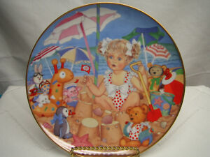 Franklin Mint Collector Plates by Carol Lawson