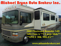 2000 FLEETWOOD BOUNDER 34FT CLS A *1 LARGE SLIDE* GREAT PRICE***