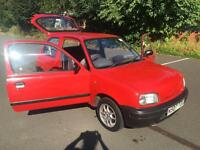 Nissan Micra 1.0 L. LOW INSURANCE & CHEAP TAX. ONLY 95 K ON THE CLOCK.