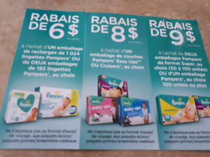 Coupons pampers
