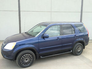 2002 HONDA CRV EX-L, LEATHER, SUNROOF, VTEC ENGINE, CLEAN!!