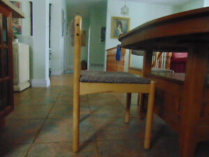 6 chairs for oval/block table and for individual rooms (