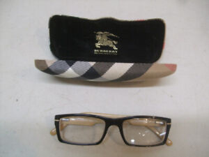 """A PAIR OF  """"BURBERRY""""  EYEGLASSES  AND CASE"""