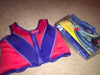 Zoggs swim vest. Excellent condition. Stage 2 (2-4years)