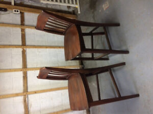 2 Bar Chairs for sale