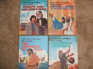 """4 """"Now You Can Read Bible Stories""""-Hard Cover"""