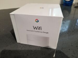 $135 FIRM Brand New Sealed Google Wifi Home Mesh System Router