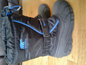 Youth Sorel Winter Boots - size 4