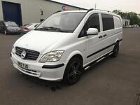 2012 Mercedes Vito crew Long 113CDI. 6 seater. Stunning. VW T5! Not.