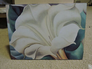 Pretty flower paintings for sale, artist Georgia O'Keeffe