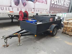 Driveway Asphalt Sealing Equipment with Trailor for Sale