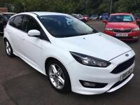 2015 FORD FOCUS ZETEC S HATCHBACK PETROL