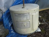 6 gallon electric hot water tank