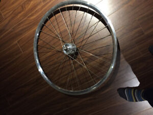 Roues fixed Gear,  H + Son, Mavic, Phil wood