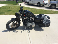 REDUCED immaculate 2008 Harley Nightster, low km's lots of xtras