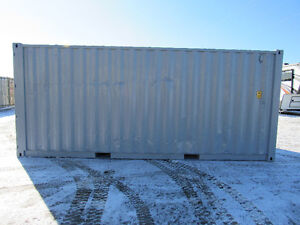 Newly refurbished 20' sea container  for sale