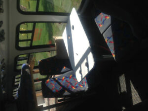 3 Cloth Bus Seats