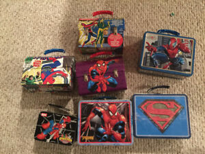 Spider-Man Tin Lunchbox Collection