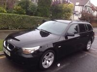 BMW 525D SE TOURING ESTATE** AUTOMATIC ** DIESEL ** 12 MONTH MOT ** 17 SERVICE STAMPS ** NEW TYRES