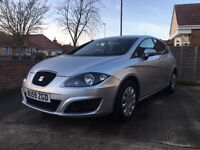 Seat Leon 2009 (59 plate) silver for sale