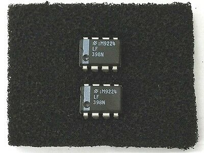 Lot Of 2 New National Semiconductor Lf398n Lf398 Monolithic Sample And Hold Ics